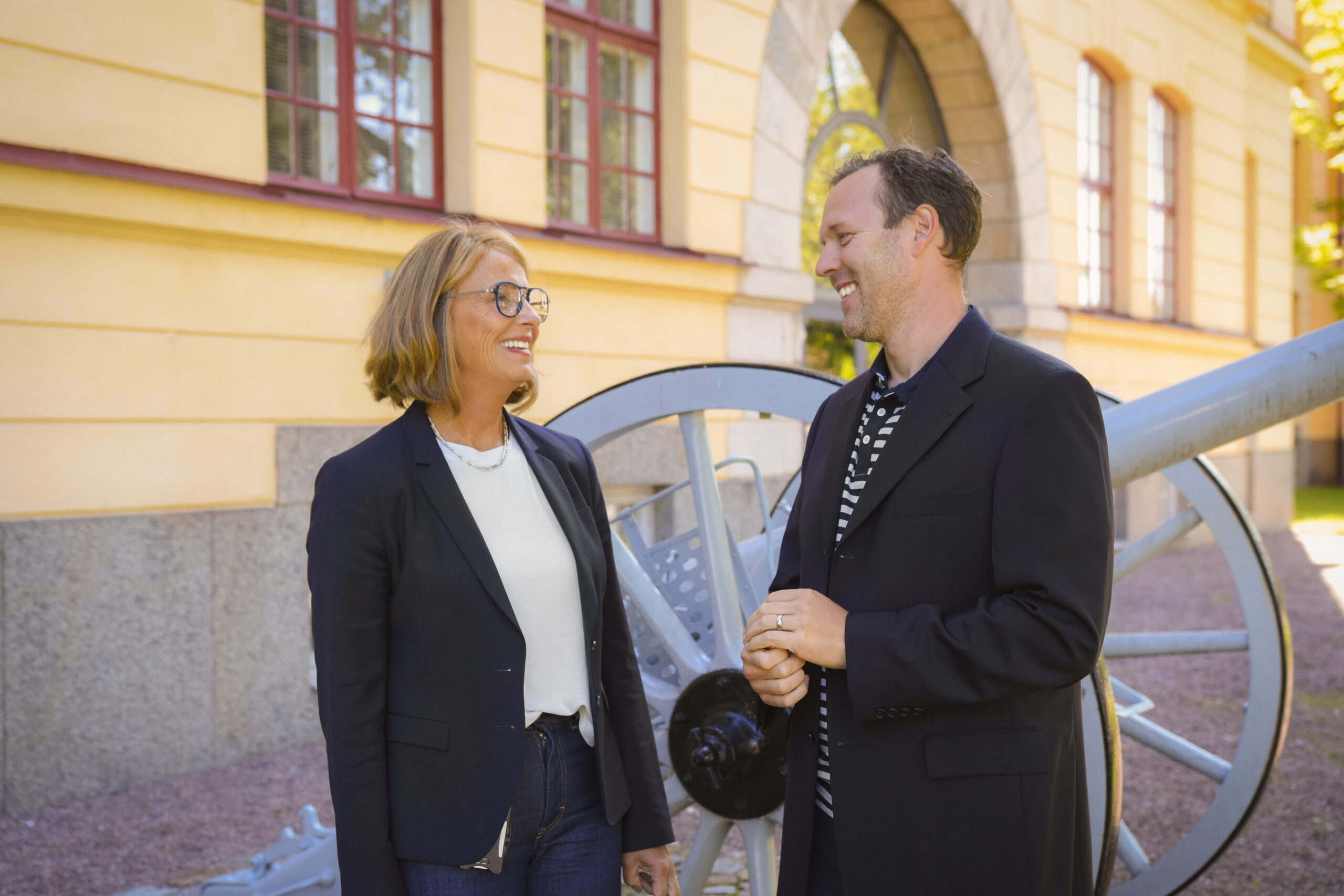 Maria Englund and Anders Millerhovf